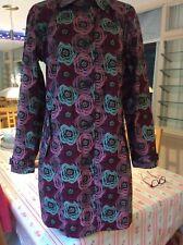 Seasalt (Tin Cloth) ladies Grey/Pink mac/coat size 10