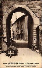 CPA   Chasselay (Rhone) - Porte du Plantin -Porte Sud de l'ancien...   (450879)