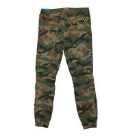 Mens Smoke Rise Cotton Twill Woodlands Camo Jogger Pants