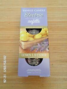 YANKEE CANDLE ELECTRIC PLUG-IN TWIN REFILLS LEMON LAVENDER