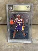KOBE BRYANT⚡️1996-97 Fleer Metal #181 Rookie BGS 9.5 GEM MINT RC🔥Lakers HOT