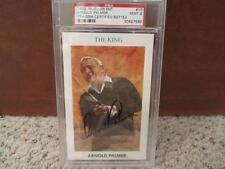 Arnold Palmer Masters Champ 1992 Mueller Golfs Greatest Signed Auto PSA/DNA 9