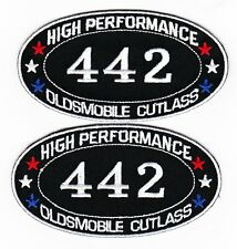 442 OLDSMOBILE CUTLASS SUPREME EMBROIDERED SEW/IRON ON PATCH DODGE EMBLEM BADGE