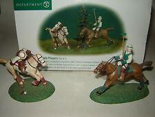 Dept 56 Dickens Village - Polo Players - Set of 2 - NIB