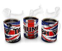 Triumph Motorcycle Mug ,British,bike,mechanic,vintage,retro