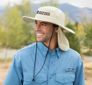 USPS Postal Post Office Bucket hat with Rear Flap No Fly Zone - Embroidered