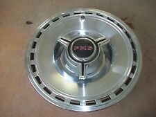 "1967 67 Pontiac Bonneville Hubcap Rim Wheel Cover Hub Cap 14"" SPINNER USED 5004"