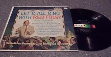 """Red Foley """"Let's All Sing With Red Foley"""" DECCA LP #DL-8847 ANITA KERR SINGERS"""