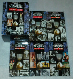 Memories 1950 1959 Fabulous 50s Great Events 10 Years Black White VHS Lot 5