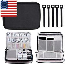 Electronics Organizer, Travel Cable Storage Bag Electronic Gadgets Accessories C