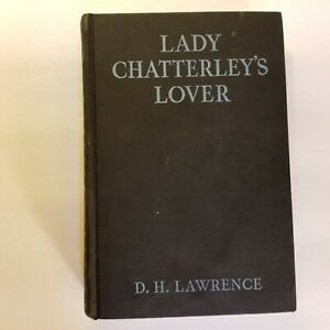 LADY CHATTERLEY'S LOVER by D.H. Lawrence - 1st American Edition