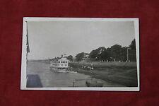 Riverboat Postcard - Real Photo RPPC