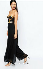 BNWT Rare Opulence Jumpsuit with Bugle Bead Embellishment UK Size 8 RRP: £125