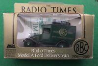 Lledo Days Gone Diecast Truck - BBC British Radio Time Model A Ford Delivery Van