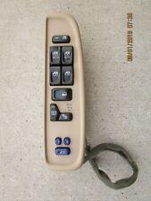 02 - 05 BUICK RAINIER OLDSMOBILE BRAVADA MASTER POWER WINDOW SWITCH 15114283
