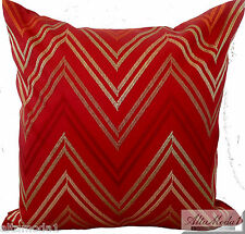 """MISSONI HOME CUSHION COVER  COTTON SATEEN EMBROIDERED 16x16"""" JAYLIN 561"""