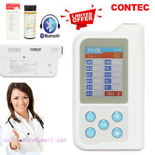 Promotion Urine Analyzer+100 Test paper,USB,Bluetooth,Rechargable BC401,2.4''LCD