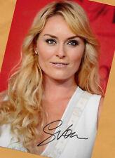Lindsey VONN - TOP Autogramm Bild (37) Print Copie + Orig.AK eines Ski-Stars
