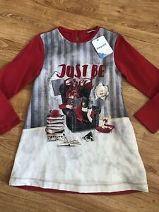 NWT Mayoral Girls Dress 9 years Red