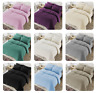 NEW TEDDY BEAR FUR SHERPA FLEECE DUVET COVER & PILLOWCASE BEDDING SET OR SHEETS