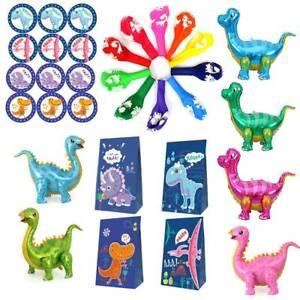 4D Dinosaur Themed Foil Balloons Dinosaur Candy Bag Children Birthday Party Deco