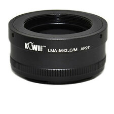 KIWIFOTOS LMA-M42_C/M M42 Screw Lens to Canon EOS EF M Mirrorless Mount Adapter