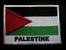 PALESTINE FLAG Embroidered Sew on Patch Free Shipping