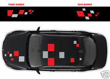 RENAULT stickers - 017 carrés Full Graphics Decal autocollants Megane Clio Twingo