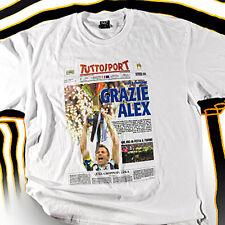 T-SHIRT GRAZIE ALEX ALESSANDRO DEL PIERO JUVENTUS CAMPIONE D´ITALIA 2012 T SHIRT