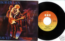 BOB DYLAN 1980 Saved / Are You Ready 45 & PS PICTURE SLEEVE Italy
