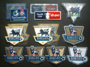 """TOPPA ufficiale VARIE STAGIONI  """"EPL"""" official patch  mix seasons PLAYER SIZE"""