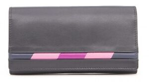 Golunski Harlequin Range RFID Leather Envelope Purse 9.5 x 17 x 1.5 cms