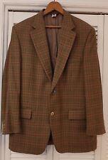 41-42R Vintage Pringle of Scotland Cashmere (?) Mens Plaid Blazer EUC