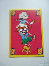 Autocollant Stickers Les Razmoket Rugrats Nickelodeon N°111 / Panini 1999