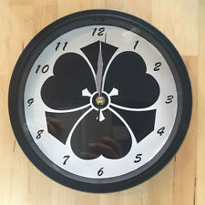 Kamon Japanese Family Crest Kikyou 9 - 9.5 inch Wall Clock