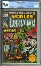 WORLDS UNKNOWN #2 CGC 9.6 WHITE PAGES