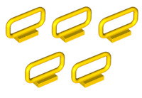Lego ® Lot x5 Barrières 1x4x2 Fence Handle Yellow ref 6187 NEW