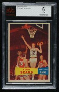 1957-58 Topps Kenny Sears #7 BVG 6 Rookie