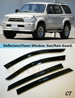 For Toyota Prado 90 5d 1996-2002 Side Window Visors Rain Guard Vent Deflectors