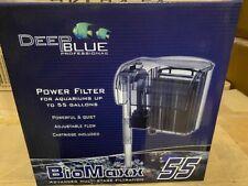 Deep Blue BioMaxx Power Filter For Aquariums up to 55 Gallon (NEW)