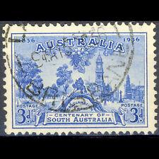 AUSTRALIA 1936 3d Blue. South Australia Centenary. SG 161. Fine Used. (AY214B)