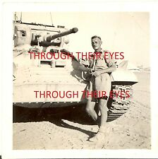 CD OF WW2 PHOTO ALBUM BRITISH TANK REGIMENT  N.AFRICA & ITALY