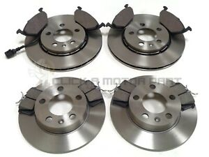 SEAT IBIZA 1.2 1.4 TDi 1.6 08-16 FRONT & REAR BRAKE DISCS AND PADS (CHECK SIZE)