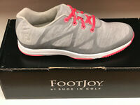 NEW FootJoy Leisure Grey 92903 Womens Golf Shoes 6.5M Waterproof Were $115
