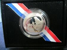2019-S Mirror Proof CLAD Half Dollar APOLLO 11 50th ANNIVERSARY   BOX &  COA