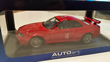 1/18 AUTOART NISSAN SKYLINE GT-R R34 V-SPEC ACTIVE RED SPECIAL WHEEL BBS VERSION
