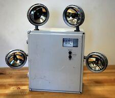 Chloride Systems MTN125ZT4ADTD 125 Watt 4 Bulb Emergency Lighting - USED