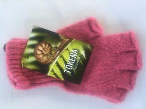 Angora and Possum Fingerless Gloves
