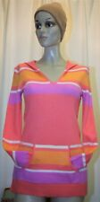 Pull à capuche LORD & TAYLOR 100% cachemire orange taille S