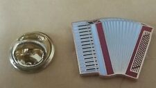 ACCORDION LAPEL BADGE MARCHING BAND ACCORDIAN